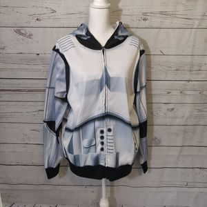 Star Wars Men's Zip Up Hoodie